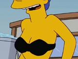 Marge Simpson in Her Black Bikini