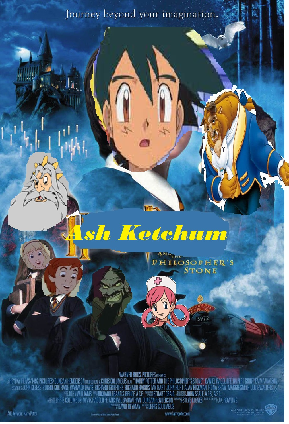 Ash Ketchum and The Sorcerer's Stone