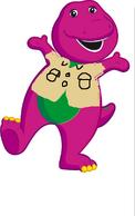Barney as baloo