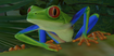 Frog, Red-Eyed Tree (Planet Zoo)