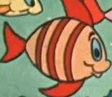 Sandy-brown-fish-with-red-stripes-from-bamse