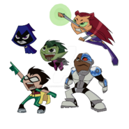 Teen titans go by budtheartguy d6pe677-fullview