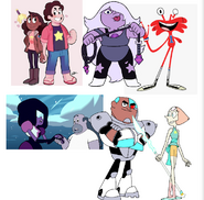 The Crystal Gems and their Love Intrests
