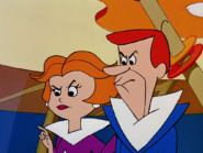 Angry Goerge and Jane Jetson