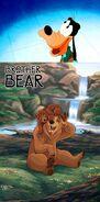 Goofy Likes Borther Bear