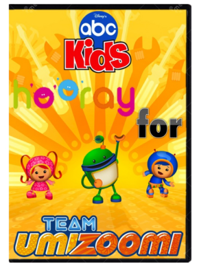 Hooray for Team Umizoomi DVD Cover.png