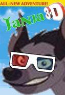 Janja (Shrek) 3D Poster