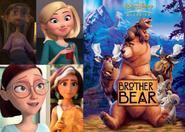 Sandra, Patty, Linda and Hope Likes Brother Bear (2003)