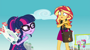 Sci Twi mad at Sunset