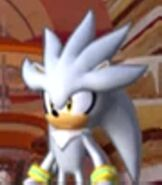 Silver the Hedgehog in Sonic Colors