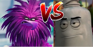 Zeta (from Angry Birds Movie 2) vs Douche