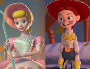 Bo Peep and Jessie (Toy Story)