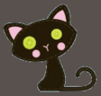 Candy Broomsticks' Pet Cat