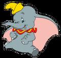 DumboSittingandSmiling