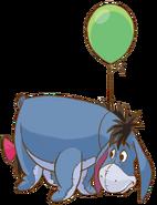 Eeyoregreenballoon