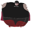 Mavis Dracula Inflated with a Cape