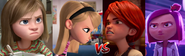 Nice Girls vs Bad Girls (Riley and Penny vs Chloe and Felicie)