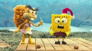 Spongebob sandy fruitcake