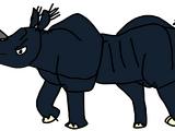 Western Black Rhinoceros