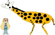 Star meets Masai Giraffe