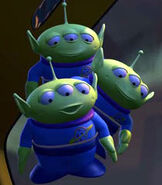 Aliens in Toy Story 2