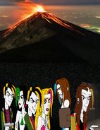 Delete scene liar inside a volcano by sup fan ddn2frk-fullview