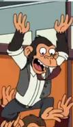 Feuturama Chimpanzee