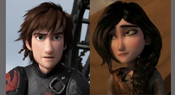 Hiccup and Heather