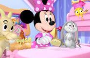 Minnie in dedication clip