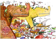 Noahs ark the woolly mammoths and other prehistoric animals by fjellfrass-d4b7h17