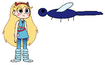 Star meets Dragonfly