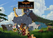 The Spacebots' Adventures of The Lion King 2 Simba's Pride