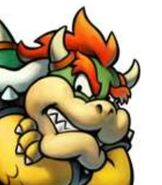 Bowser in Mario and Luigi - Bowser's Inside Story