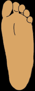 D.W.'s Feet