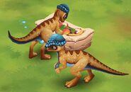 Dinosaur Park- Primeval Zoo Prenocephale