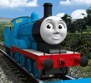 Edward from thomas and friends as Sean Connery's Bond