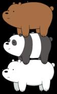Grizz, Panda and Ice Bear
