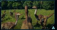 Jurassic World Gallimimus