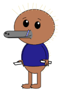 Kenai Hidna (straw) (two sabers)