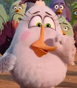 Matilda in The Angry Birds Movie 2