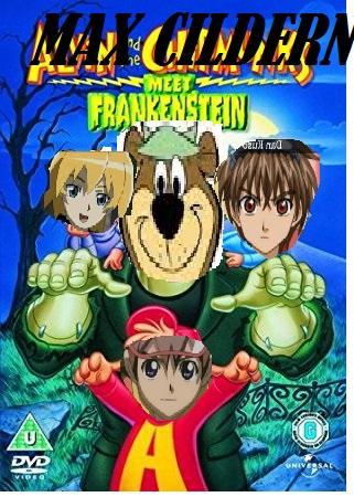 Max and the Children Meet Frankenstein