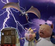 Runt, Sandy and Toby vs Thunderclap