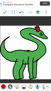Brachiosaurus Frankie