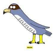 Emmett's ABC Book Falcon