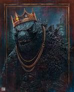 Godzilla vs kong poster by rohitsehrawat deg1x0b-pre