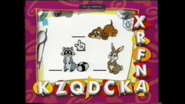 Mickey's Letter Time Dog Rabbit Raccoon