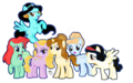 My Little Princess- Friendship is Magical - Mane 6