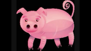 Safari Island Pig