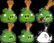 Character King Pig