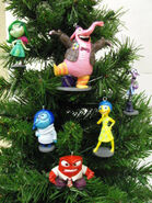 Inside Out Christmas Ornaments